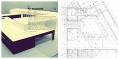 Architecture Portfolio - updated by Liliana Shcrobot, via Behance
