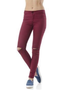 Γυναικείο τζιν Skinny Jeans, Sweatpants, Fashion, Moda, Fashion Styles, Fashion Illustrations