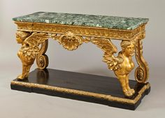 William Kent - A Fine and Dramatic Antique Console Table in the Manner of William Kent