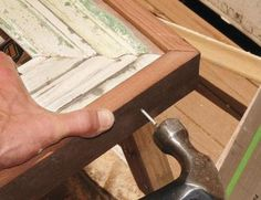 How to build a picture frame – Instructions on DIY picture frames made custom by you.