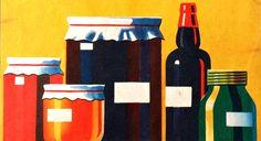 atamon mainos 1955 Nostalgia, Bottle, Outdoor Decor, Home Decor, Decoration Home, Room Decor, Flask, Home Interior Design, Jars