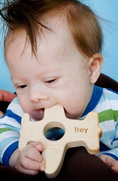 personalize any two teethers wooden baby toy by littlesaplingtoys