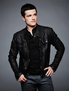 Josh Hutcherson, he just looks really sassy in this photo for some reason. I had to pin it I love sass!