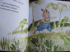 Kurbağaya özenen tavşan Roka