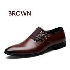 Big Size 6.5-12 Fashion Men Dress Shoes