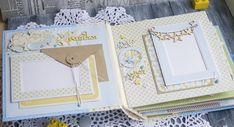 Творческие порывы...: Звёздный альбом для звёздного малыша Baby Scrapbook, Scrapbook Albums, Mini Albums, Layout, Baby Shower, Paper, Frame, Cards, Diy