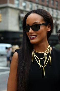 Love this necklace! #necklace #sunglasses