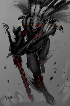 Eagle Warrior Garuda by benedickbana.deviantart.com on @DeviantArt
