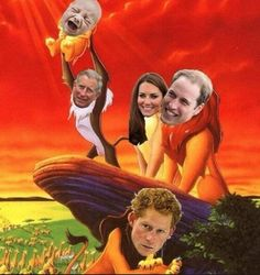 The Royal Family!