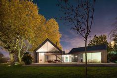 Дом из четырех домов по PROD архитектуры и дизайна (36)