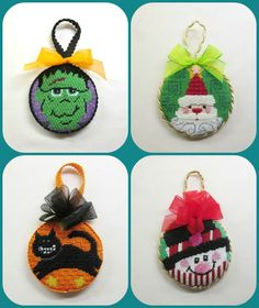 Needlepoint & Cross Stitch Ornament Finishing Service **Buy 10 Get One Free**