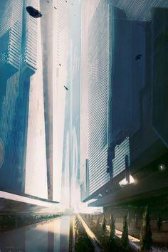 Sci Fi City, City Drawing, Treasure Planet, Alien Art, Concept Architecture, Future City, Fantasy Landscape, Urban Planning, Sci Fi Fantasy