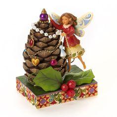 Jim Shore Christmas Tree Fairy Figurine