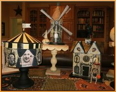 """My haunted buildings...next year more """"night circus."""""""