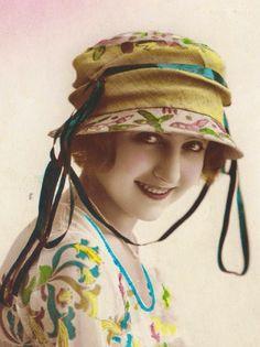 vintage tinted photo 1919