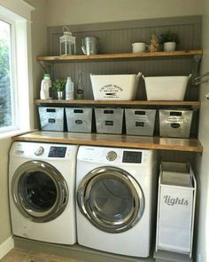 25 ways to give your laundry room a vintage makeover pinterest
