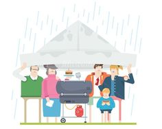 An illustration of BBQ Washout