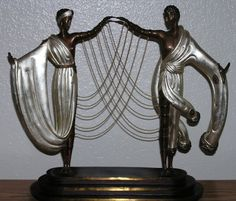 Wedding Bronze Sculpture by Erte