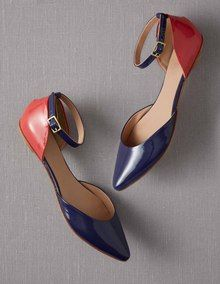 Need??? Boden colorblock flats.