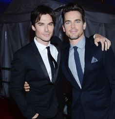 I'll take either as Christian Grey! Matt Bomer & Ian Somethalder