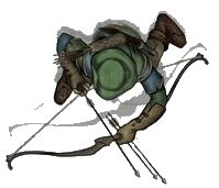human/elf archer