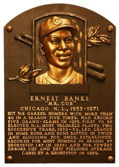 Ernie Banks: Baseball Hall of Fame - 1977