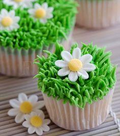 Cupcake for spring