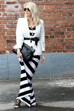 Black and White Stripes - cute.