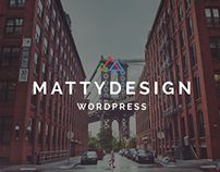 Matty - #Powerful and #Flexible #Theme by CODE9RS