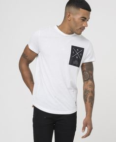 RLGN PERSUIT TEE - WHITE - New in - £32.50