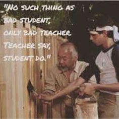 Miyagi's Quote for the Weekend  The Karate Kid 1984, Karate Kid Movie, Karate Kid Cobra Kai, Film Quotes, Words Quotes, Wise Words, Karate Kid Quotes, Martial Arts Quotes, Ju Jitsu