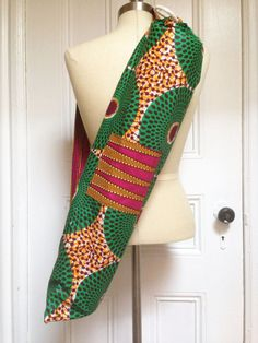 Image of  African WAX Print Yoga Bags