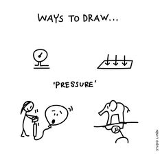 The pressure is of Doodle Icon, Doodle Sketch, Doodle Drawings, Easy Drawings, Visual Thinking, Design Thinking, Learn To Draw, How To Draw Hands, Visual Note Taking