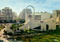 La Grande Motte, Architecture Board, Construction, Kirchen, Opera House, Building, Travel, Nun, Buildings