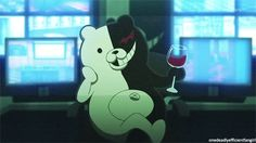 MONOKUMA   If you were a student, just a normal, non-despair-bringing student (as ...