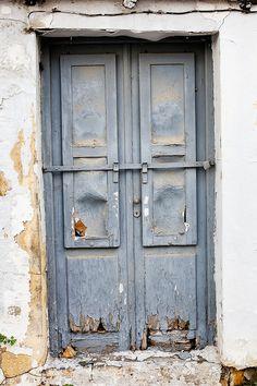 Door in Rhodes, Greece