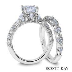 Jewelry Studio in Bozeman, Montana sells Scott Kay engagement rings and wedding bands Tax Free! www.Bozemanjewelry.com