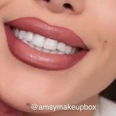 Big Lips Tutorial, Lip Makeup Tutorial, Lip Liner Tutorial, Kiss Makeup, Makeup Art, Eye Makeup, Lip Contouring, Makeup Course, Makeup Makeover