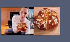 Υβόννη Μπόσνιακ: Έδωσε την καλύτερη συνταγή για τσουρέκια (Video)   Gossip-tv.gr Muffin, Breakfast, Food, Morning Coffee, Essen, Muffins, Meals, Cupcakes, Yemek