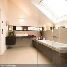 Badezimmer Bilder & Ideen | Bad, Tags Und Fußböden Fliesen Zu Holz Waschtisch