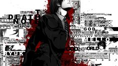 Widescreen Wallpapers: death note backround, 1920x1080 (537 kB)