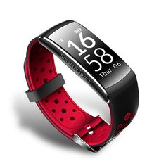 Q8 IP68 Blood Pressure Heart Rate Monitor Fitness Tracker Smart Wristband Bracelet For iOS Android Sale - Banggood.com