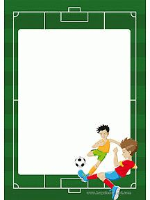 My sponsored child will love this stationary. Borders For Paper, Borders And Frames, Baby Boy Scrapbook, Scrapbook Paper, Paper Journal, Lesson Plan Examples, Soccer Birthday Parties, Page Borders Design, Kids Background