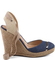 ESPADRILLE ANABELA JEANS