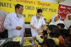 Bata Children's Program Pakistan initiated a campaign to provide polio vaccination coverage to children of Bata employees and children from nearby communities. #corporatevolunteering