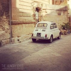 Fiat 500 Print, Made in Italy, Italian Car, Vintage Car, Perfect Gift, Vintage Inspired, Fine Art Photography, Wall Art, Coffeehouse Decor