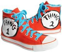 Check it out: Wishlist. This site is the Pinterest of merchandise desires. After signing up via facebook it came up with an awesome page of suggestions for me, which included these adorable Dr. Seuss Converse!  Love it!