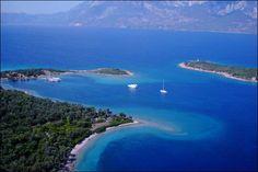 Gökova, Turkey Beautiful Places To Visit, Beautiful World, Places Around The World, Around The Worlds, Visit Turkey, Turkey Holidays, Historical Monuments, Marmaris, Turkey Travel