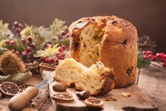 Panettone Italian Christmas Cake Stock Photo (Edit Now) 724682758 Italian Cheese, Italian Bread, Italian Christmas Cake, Cake Stock, Fish Dishes, Sweet Bread, Meals For One, Christmas Traditions, Easy Cooking
