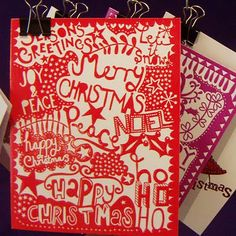 paperchase's 2011 christmas cards